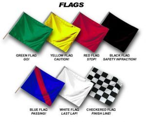 Track Day Flags