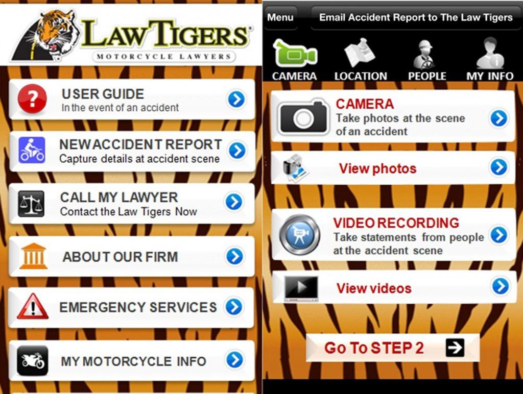 Law Tigers Launch Motorcyclist Friendly App | TEAM Arizona