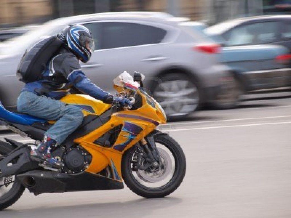 urban motorcyclist