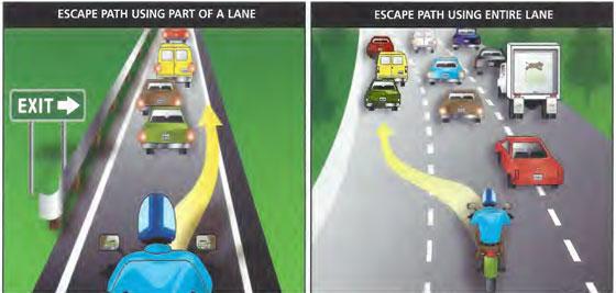 Motorcycle Escape Routes