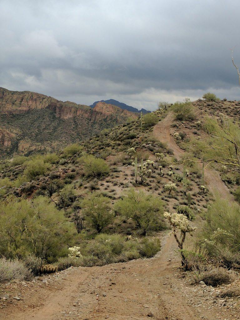 The Dirt Bike Trail Beckons at Box Canyon
