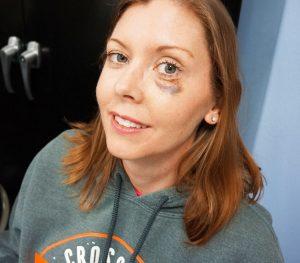 Kelly Teal Black Eye