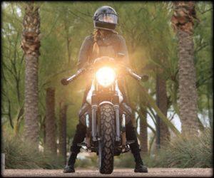 Tina Stiff Moto Guzzi Headlight Love