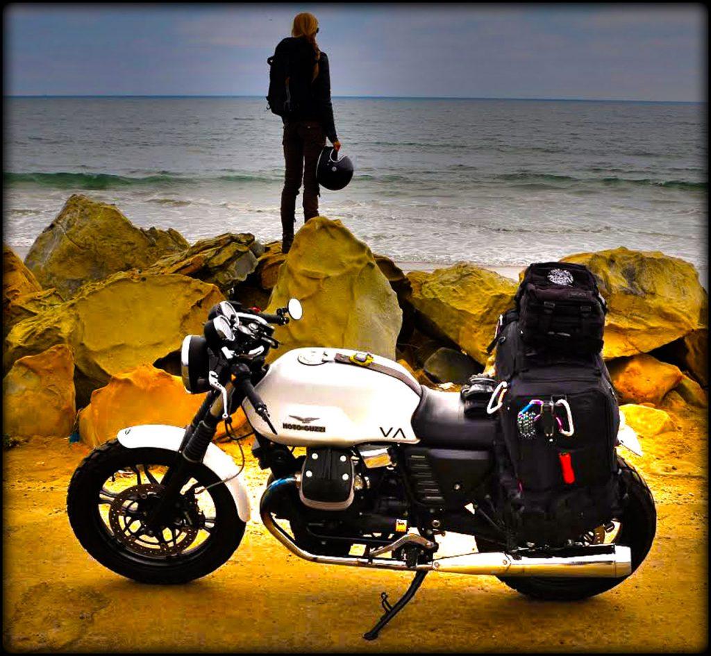 Tina Stiff Moto Guzzi Ocean