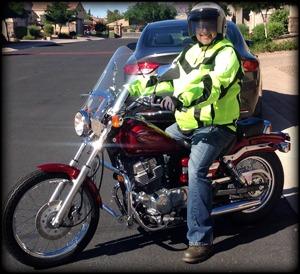 Nathan Aughe First Bike Honda Rebel