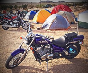 Heather's Honda Shadow at Babes Ride Out3