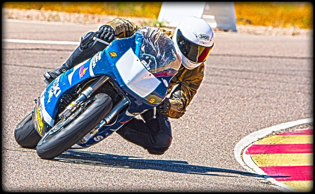 Marshall Keller on the Race Track