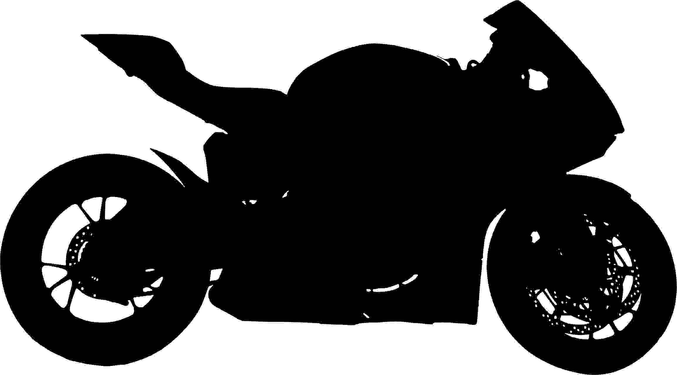 Red-Motorcycle-Silhouette