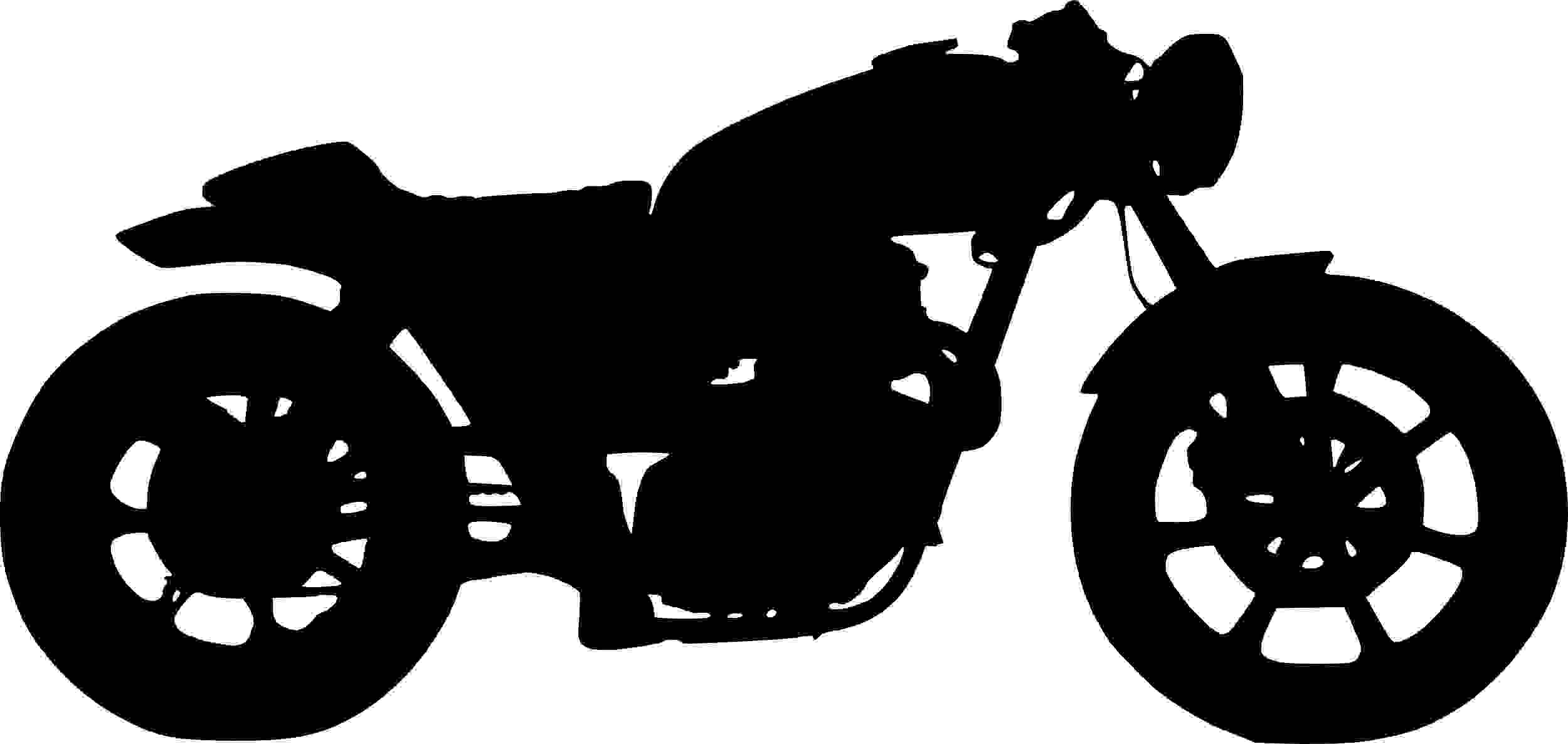 motorcycle-silhouette-cafe